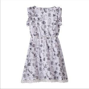 Disney Alice in Wonderland print dress